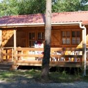 Camping 3 étoiles dordogne - Le chalet Les bleuets