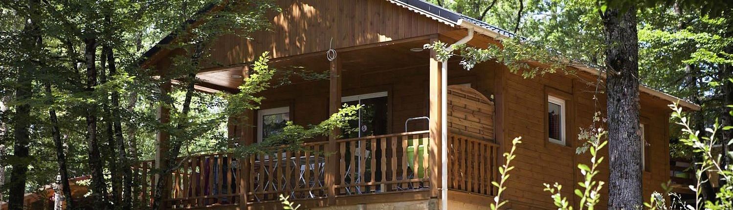 Camping 3 étoiles dordogne - chalet