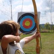 Camping 3 étoiles dordogne - le tir à l arc au camping