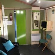 Camping 3 étoiles dordogne - Coin salon