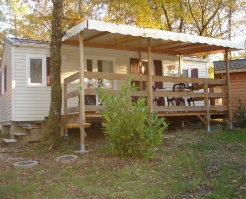 Camping 3 étoiles dordogne - Extérieur