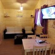 Camping 3 étoiles dordogne - Interieur du chalet LA CABANE