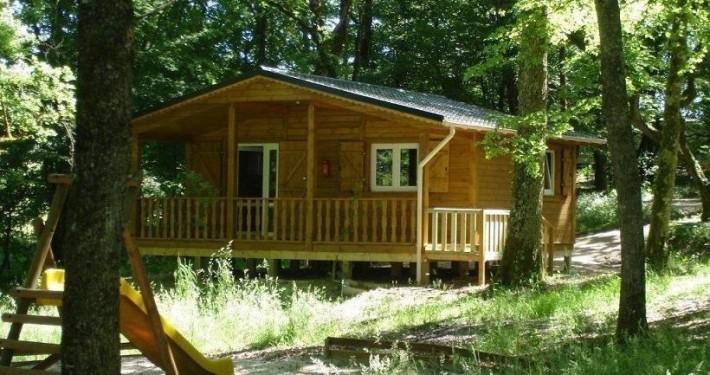 Camping 3 étoiles dordogne - Le chalet La cabane
