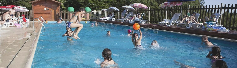 Camping 3 étoiles dordogne - La piscine