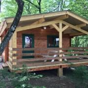 Camping 3 étoiles dordogne - Terrasse Les Coquelicots